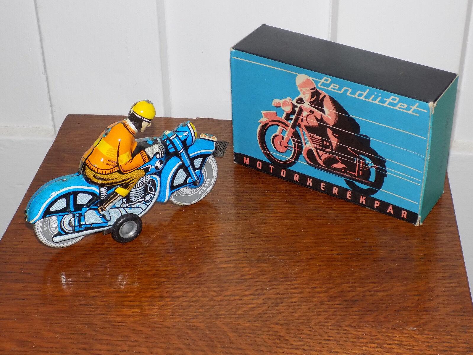 Zinn reibung motorrad mit box aus ungarn