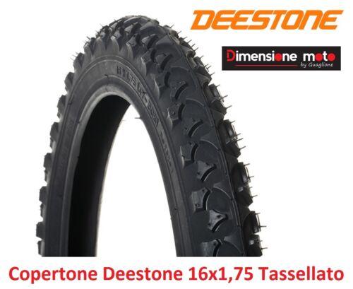 "Deestone Tire/""/"" 16x1,75 d-202 Black Tessellated for 16/"" bike BMX freestyle"