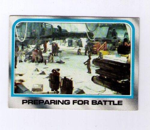 Star Wars Empire Strikes Back #144 Preparing for Battle Topps 1980 Series 2