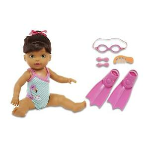 Baby-Born-Mommy-Look-I-Can-Swim-Brunette-Swimming-Doll