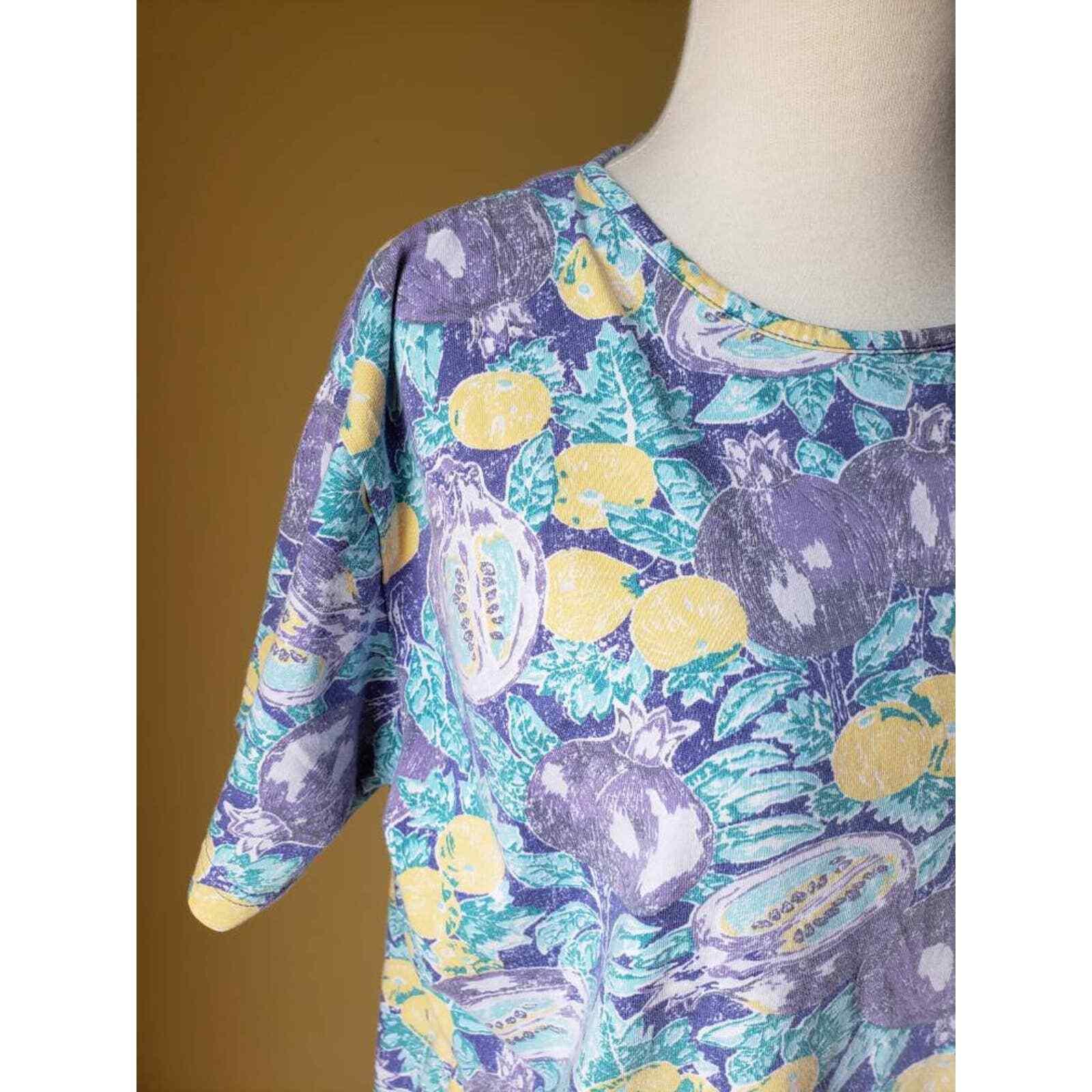 Vintage Laura Ashley shift dress, 90s dress, lemo… - image 5