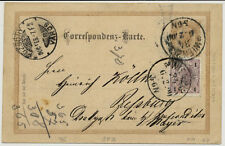 ÖSTERREICH 1900 KARTE, WIEN nach POZSONY