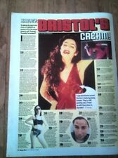 PJ HARVEY question and answer 1998  UK newsprint  article/clipping 16x12 inches