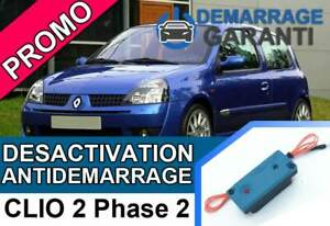 Cle-de-desactivation-d-039-anti-demarrage-Renault-CLIO-2-PHASE-2
