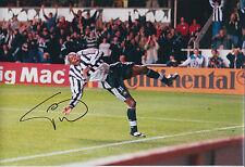 Faustino TINO ASPRILLA SIGNED Autograph 12x8 Photo AFTAL COA Newcastle United