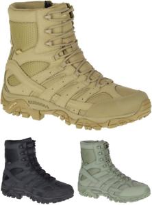 MERRELL Moab 2 8  Impermeable Táctica Militar Ejército Combate Desierto botas para Hombres Nuevo