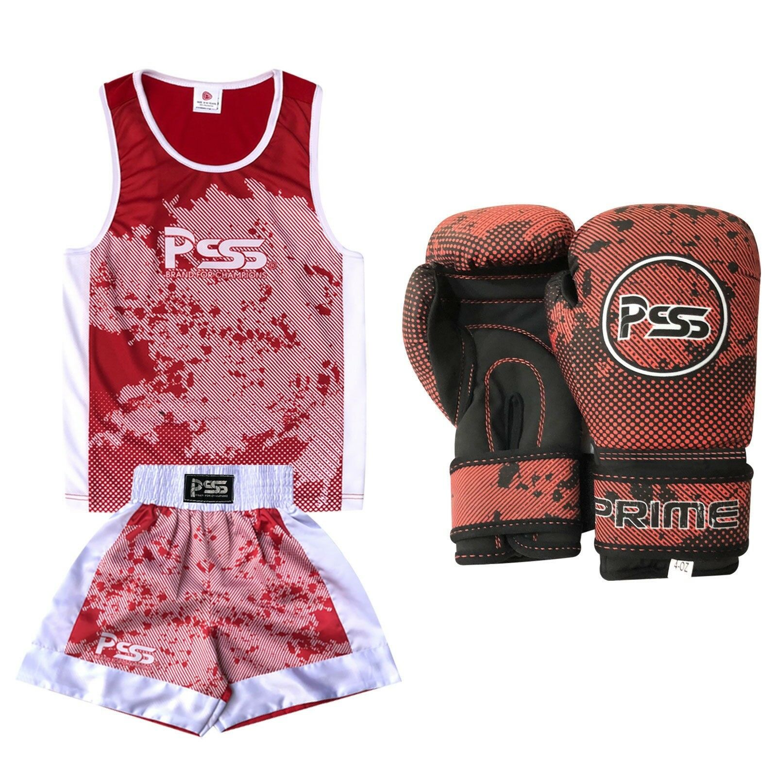 Bambini scatolaing Training Uniform Set morbido Sublimation design guantone 1019