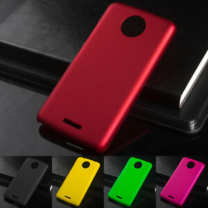 low priced 87b30 5b1e1 Details about Matte Plastic 5.0For Moto C Case For Motorola Moto C Cell  Phone Back Cover Case