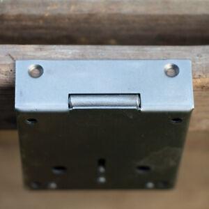 Schrankschloss Aufschraubschloss Dornmaß 80 mm