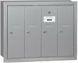 Image Is Loading 4 Door Apartment Mailbox Multi Family Mail Box