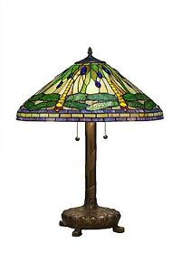 Enjoyable Details About New Stained Glass Dragonfly Table Lamp With Library Base Tiffany Style 2013 Lbo Interior Design Ideas Inesswwsoteloinfo