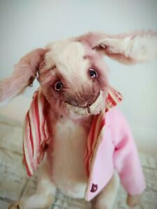 Teddy-Rabbit-Brunee-OOAK-Artist-Teddy-by-Voitenko-Svitlana