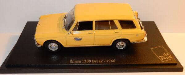 ... Universal Hobby Simca 1300 Break 1966 Postes Poste Ptt 1/43 In Blister Box Nuove Varietà Sono Introdotte Una Dopo L'Altra