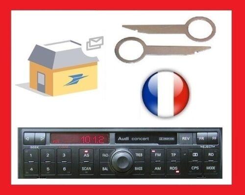 sainchargny.com keys car audio extraction disassembly Audi Concert ...