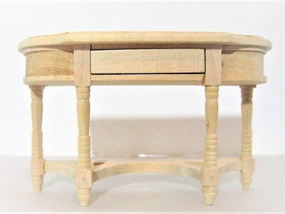 Dollhouse Miniature Unfinished Wood