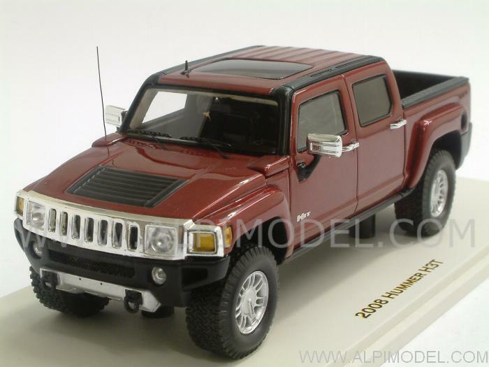 Hummer H3T 2008 Sonoma Red Metallic Metallic Metallic by Spark-Minimax 1 43 LUXURY 101300 158818