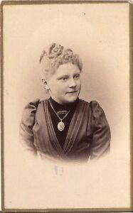 CDV photo Damenportrait - Hannover um 1890 -  Winsen, Deutschland - CDV photo Damenportrait - Hannover um 1890 -  Winsen, Deutschland