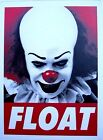 Penny Wise It Scary Clown Decal /Sticker Steven King Horror Float New Design