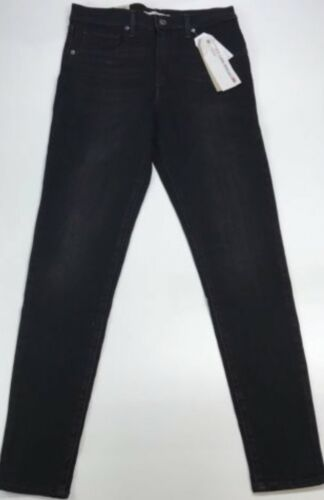 Levi's Rrp Skinny Black Super £85 Jeans High Mile rxSwqY4Hr