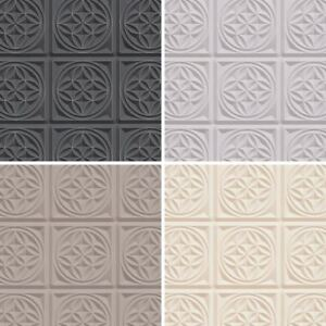 Image Is Loading AS Creation Oslo Tile Pattern Wallpaper Faux Effect