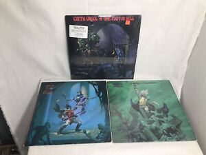 3-Original-Cirith-Ungol-LP-FROST-AND-FIRE-ONE-FOOT-IN-HELL-KING-OF-THE-DEAD