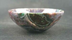 Fancy-Jasper-Bowl-Hand-Carved-3-12-034-Pure-Crystal-Gem-Stone-Functional-M277