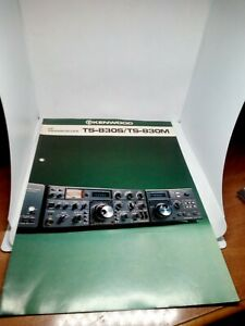 KENWOOD-TS-830S-TS-830M-BROCHURE-ORIGINALE-RADIO-HF