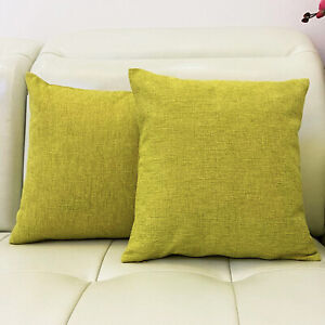 """2PC 16""""x16"""" Cushion Covers Throw Pillow Covers Cases for Couch Sofa Home Decor"""