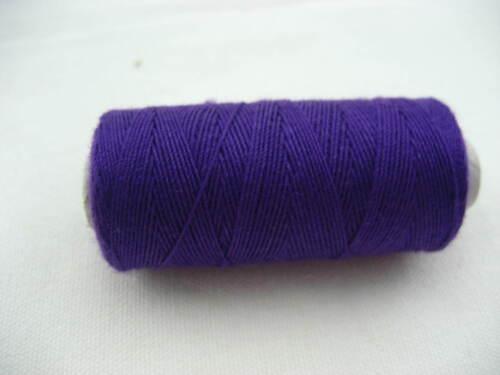 10pc Bolsas Zapatos púrpura Jean Hilo Muy Fuerte Grueso Hilo de Coser Carretes Hilo