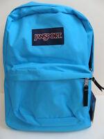 Jansport Girls Superbreak Backpack Book Bag School Pack Padded Mammoth Blue
