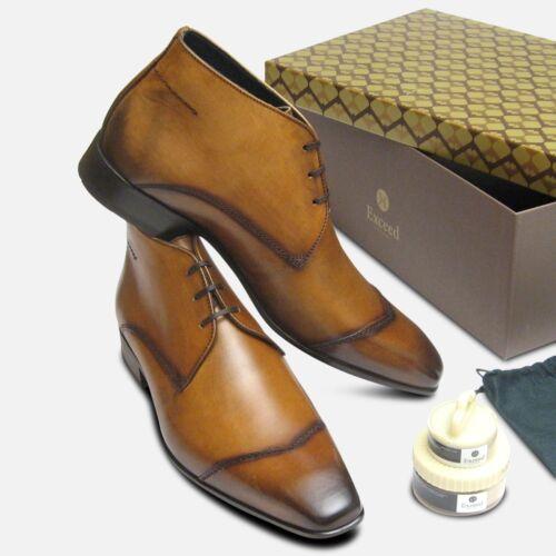 Bottes par Style marron Raptor cuir Shoes Exceed en fumé POqrPT
