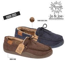 453619d6757 item 2 Mens Fleece Lined Moccasin Warm Winter Slip On Slippers Shoe Size 7  8 9 10 11 12 -Mens Fleece Lined Moccasin Warm Winter Slip On Slippers Shoe  Size 7 ...