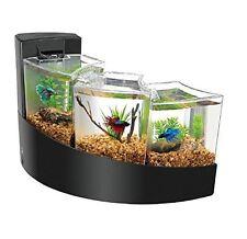 Aqueon Kit Betta Falls Starter Goldfish Home Decor Office Fish Tank Aquarium New