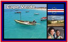 CAPE VERDE - SOUVENIR NOVELTY FRIDGE MAGNET - BRAND NEW - GIFT