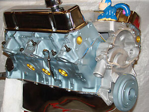 Details about 455-461 Pontiac High Perf balanced crate engine with cast  heads 400 455 461 468