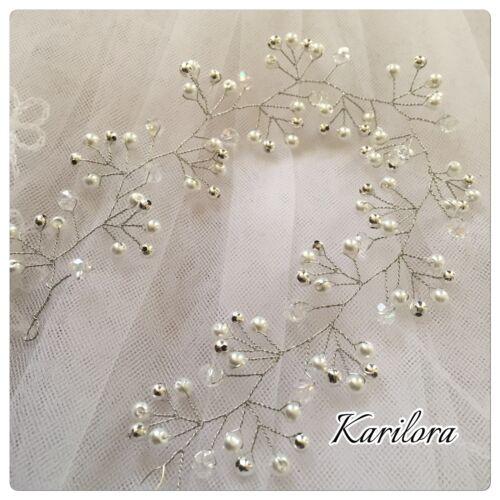 10 Robe de mariée cheveux vigne, cheveux Wrap, Bijoux de cheveux, mariage/bal Bandeau