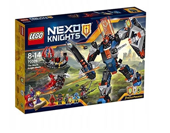 LEGO NEXO KNIGHTS Der Mech des schwarzen Ritters (70326) NEU OVP