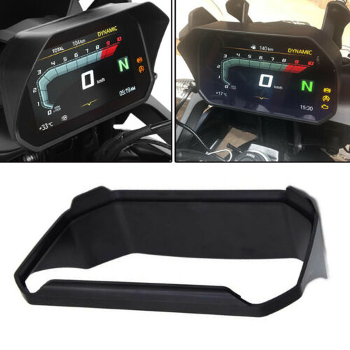 """Motorcycle 6.5/"""" Instrument Sun Visor Protective Cover ABS Universal Fit For BMW"""