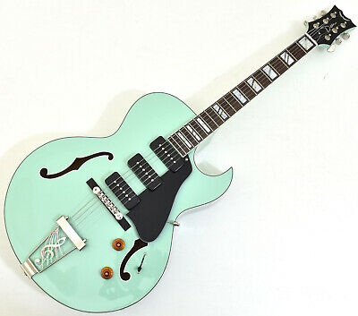 Dean Palomino Hollow Body Electric Guitar Sea Green Ebay