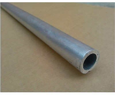 2pcs 6061 T6 Aluminum Seamless Tube OD 8mm ID 6mm Length 0.5m (1.64 ft) #EA-5
