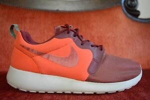 7bc02a9f1ab6 NIKE Roshe Run HYP Hyperfuse 636220 801 Team Orange Cedar Red Hyper ...