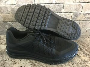 Details about Nike AIR MAX 2016 Running Shoes BlackBlack Black 698902 020 Mens Size 14 2017