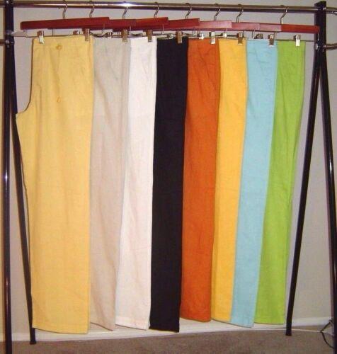 Light Yellow Destination Wedding Draw String Men/'s Premium Beach Linen Pants