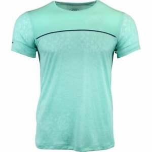 ASICS-Gel-Cool-Short-Sleeve-Top-Athletic-Tennis-Tops-Green-Mens
