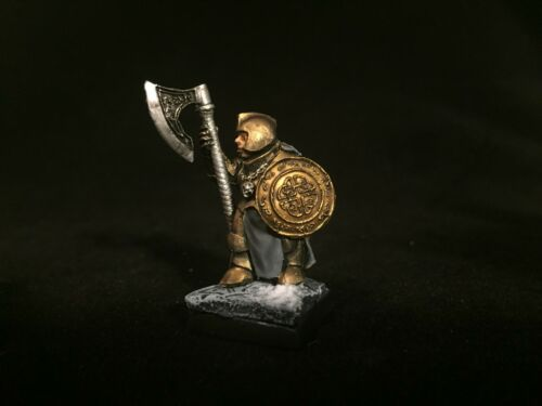 Painted Miniature Female Dwarf High Quality Resin D&D Pathfinder Fantasy RPG
