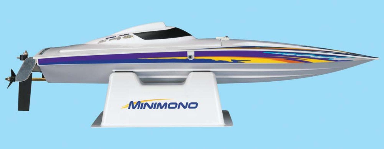 Aquacraft aqub 1806 lancha rápida mini mono rtr longitud total 458 mm