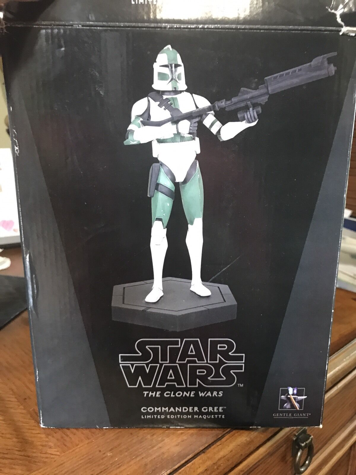 Gentle Giants Star Wars The Clone Wars Limited Edition Maquette Commander Gree