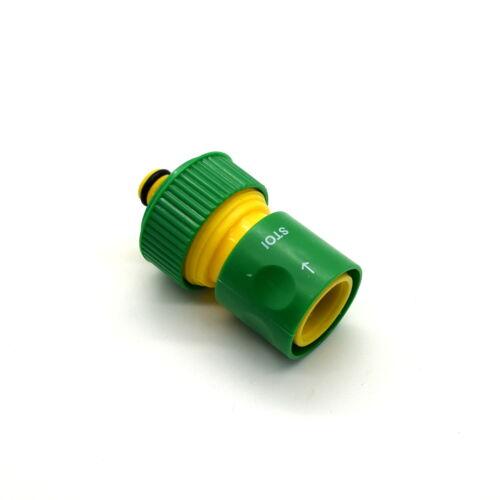 """HOZELOCK Compatibile 3//4/"""" Veloce Tubo Connettore per tubo da giardino tubo ACQUA W Stop"""