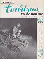 C1 Tourisme en DAUPHINE 14 1956 SPELEOLOGIE Speleo VOIRON Saint Alban Rhone