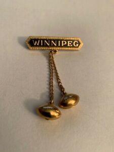 CFL Pin Winnipeg Blue Bombers Team Pin 1950s Circa Very Rare